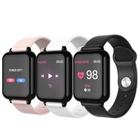Wholesale best androids phones online – B57 best smartwatch fitness tracker for iphone andriod women men waterproof Bluetooth Sports watch with Heart Rate Blood Pressure Monitor