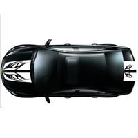 adesivos de carro de surf venda por atacado-CARRO 2 PCS Capa Capa Cauda Adesivo Listrado Flame Engineered Car Strap Lavar Decalque