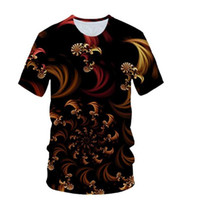 Wholesale beautiful sea painting for sale - Group buy 2019 Newest Beautiful Flowers Sea D T Shirt Colorful Coral Tees Shirt Homme Painting T Shirt Men Casual T Shirt Mens Streetwear