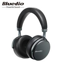 ingrosso cuffie senza fili v2-Bluedio V2 Bluetooth Cuffie Auricolare senza fili Pps12 Driver con microfono Cuffie high-end per telefono e musica J190507