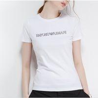 ingrosso camicia alla moda di disegno-Nell'estate del 2019, il nuovo vestito alla moda di design, T-shirt in cotone al 100%, graziosi graffiti, T-shirt con charme per il tempo libero, T-shi stampato incantevole