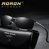 marken-sonnenbrille china großhandel-Sonnenbrille china polizei großhandel polarisierte herren männlich vr46 marken seitenschilde test trends männer retro runde sonnenbrille design qualität