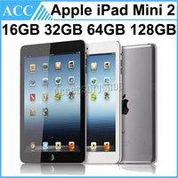 бесплатный беспроводной wi-fi оптовых-Восстановленное в Исходном Apple iPad Mini 2 WIFI Версия 16 ГБ 32 ГБ 64 ГБ 128 ГБ 7,9 дюймов Retina IOS Двухъядерный A7 Чипсет Планшетный ПК Бесплатный DHL 1 шт.