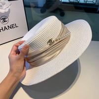 chapeaux de golf à larges bords achat en gros de-chapeau blanc chapeau de soleil chapeau de plage été