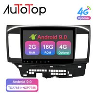 Wholesale mitsubishi radio bluetooth for sale - Group buy AUTOTOP Din Android Car Multimedia Player for Mitsubishi lancer x Radio GPS Navigation Bluetooth G Wifi No DVD car dvd