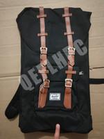 büyük seyahat sırt çantaları toptan satış-2019 Açık Havada paketleri Sırt Çantası Moda sırt çantası Bilgisayar paketi Büyük Tuval + naylon Çanta Seyahat çantası SporAçık Paketleri Laptop çantası Kanada