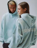 hoodie solto venda por atacado-2019 Moda Outono Inverno Fear Of Women Deus 6 Essentials 3M reflexiva Hoodie Skate solto Hoodie Fog com capuz Camisola encapuçado dos homens