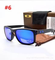 солнцезащитные очки holbrook оптовых-Новый Polaroid Солнцезащитные очки Мужская модаХолбрук солнцезащитные очки спортивные очки металлические каркасы 4132 Велоспорт Путешествуя Goggles свободный корабль