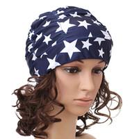 ingrosso nuova ragazza di capelli lunghi-New Ladies Swim Cap Girl Long Hair Swim Cap Elastic Draping Swim Cap C19040302