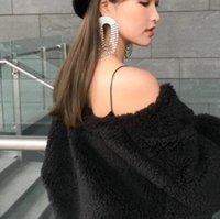 ingrosso orecchini di diamanti di alta qualità-Nuovi orecchini da donna con nappine di diamanti micro-intarsiati di alta qualità scintillanti orecchini a cascata con orecchini lunghi