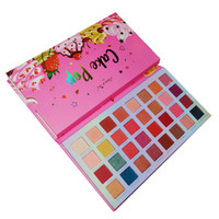 Wholesale pop cakes for sale - Group buy Newest Cake Pop Bright color eye shadow palette TENCOCO Take Me Home Shimmer pressed powder palette colors drop shipping