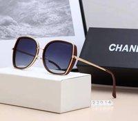 sonnenbrille polarisierte kiste großhandel-Hochwertige polarisierte linse pilot mode sonnenbrillen für männer und frauen markendesigner vintage sport sonnenbrille mit fall und box