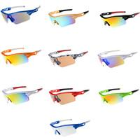 ingrosso migliori occhiali da sole donna-Occhiali da sole sportivi da donna Best Qualily Surfing Occhiali da sole da uomo Occhiali da sole fantasia occhiali da sole I migliori occhiali da equitazione per biciclette 10PCS