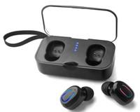 Wholesale playing music bluetooth headset resale online - T18 TWS Mini Wireless Bluetooth Earbuds Binaural Calls Both Side Music Play Headphone Sport Ture Stereo Earphones In Ear Headset