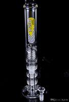 tubo de água de vidro balde de mel venda por atacado-mais barato Mais novo bongo de vidro com mel balde bongo de petróleo bongos de tubos de água fab ovo bong borbulhador de tubos de vidro colorido
