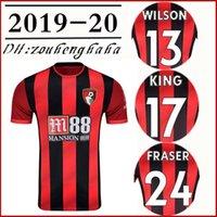 könig fußball großhandel-2019 2020 Bournemo WILSON Fußball Trikot 19 20 FRASER Fußball Trikot COOK IBE AKE STANISLAS KING BROOKS Maillots de foot