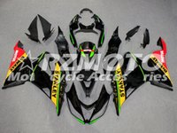 Wholesale abs kit for motorcycle resale online - New ABS Injection mold Motorcycle Fairings kit For Kawasaki Ninja ZX6R Bodywork set Fit Black