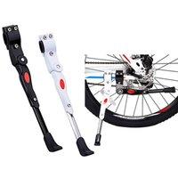 Aluminum Bicycle Cycle Bike Cycling Park Side Leg Rod Kick Stand Kickstand Black