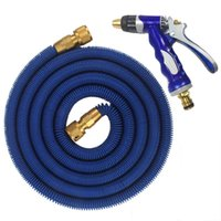 Wholesale expandable garden hose 75ft resale online - 2018 High Quality FT FT Garden Hose Expandable Magic Flexible Water Hose Plastic Hoses Pipe With Coppe Gun To Watering