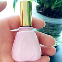 розовый ароматизатор аромата оптовых-10 МЛ Розовые Стеклянные Флаконы для духов Портативный Парфюмерный распылитель для путешествий Косметические контейнеры для продажи