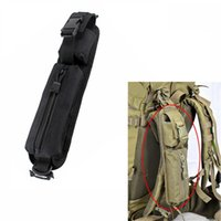 Wholesale gear backpacks resale online - Tactics Backpack Shoulder Strap EDC Outdoor Emergency Survival Gear Belt Bag Molle Annex Baldric Green Black Oxford Cloth yb C1