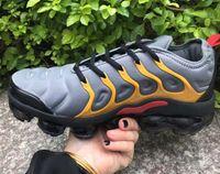 ingrosso aria n-2019 T N Plus Uomo donna Designer Scarpe air grape tripla nero bianco tramonto lupo Olive Metallic Silver big size running sneakers air shoes