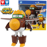 Wholesale wings boy for sale - Group buy AULDEY Super Wings Boys Cartoon Robot Todd Dizzy Grand Albert Jett Action Figures Animation Kids Designer Brand Toys Robots Toys T Up