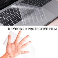 Wholesale 17 waterproof laptop cover for sale - Group buy Waterproof Keyboard Skin Film Protect Cover for Macbook inch Silicone Keyboard Protective film US Enter