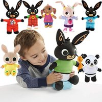 Wholesale white bunny toy for sale - Group buy Genuine Bing Bunny Plush Toy Sula Flop Hoppity Voosh Pando Bing Coco Plush Doll Peluche Toys Children Birthday Christmas Gifts