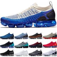 zapatillas de cebra al por mayor-Nike Air Vapormax Barato 2.0 PLUS Hombres Mujeres Zapatos Corrientes Triple Negro Blanco Rojo Órbita Mango Crimson Pulse Diseñador Trainer Sport Sneaker