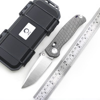 Wholesale dicoria for sale - Group buy high quality DICORIA prophet AXIS high hardness tactical folding knife M390 blade titanium treated KVT bearing outdoor adventure survival