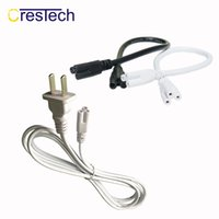 Wholesale fluorescent light wiring resale online - 1 M T4 T5 T8 Tube Connector Cable Cord US Plug Line for LED Light Bar Fluorescent V A T5 Connector Cable Wire