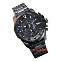 precio del reloj japon al por mayor-Diseñador CALIENTE reloj de lujo para hombre relojes dz casual hombres reloj deportivo japón movimiento de cuarzo relojes de pulsera precio al por mayor