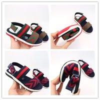 Wholesale toddlers footwear resale online - designer shoes Kid Shoes Sandal Baby Children Sandals Infant Shoes Boys Girls Summer Sandals Kids Footwear Toddler Sandals