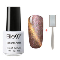 Wholesale eye black stick for sale - Group buy Elite99 Magnetic Cat Eye Gel Nail Gel Polish ml Cats Eye UV Nail Polish Varnish with D Effect Magnet Stick