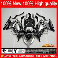Wholesale kawasaki ninja 300 for sale - Group buy Injection For KAWASAKI Repsol silver EX ZX R HC ZX3R EX300 R ZX R ZX300R Fairing