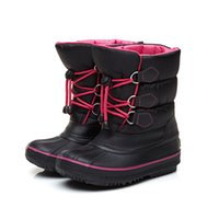 Wholesale high quality shoes for children resale online - NEW Winter Shoes for Unisex Child and Kids Very Keep Warm Waterproof Snow High Ankle Boots made of Oxford with High Quality Free DHL X30