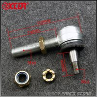 Wholesale upper arms for sale - Group buy M12 M16 ARM Ball Joint Rocker Tir Rod End UPPER A Arm Joint With Lock Nuts CC Chinese ATV Parts