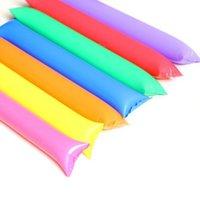 надувная палочка для аплодисментов оптовых-Thunder Cheer Sticks / Ударная штанга / Палка для аплодисментов / Фаршированная Клюшка / Приветствие Заправки Хлопушки / надувные Noisemakers Stick LX6799
