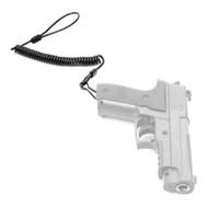 chaveiro da pistola venda por atacado-Laço Coiled da correia da bobina da correia da pistola para esportes Keychain do andaime