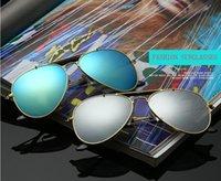 Wholesale shades goggles for men for sale - Group buy Brand Designer Sun Glasses Classic Pilot Sunglasses for men women Metal Frame Driving glasses uv400 Lens Mirror Goggle Shades