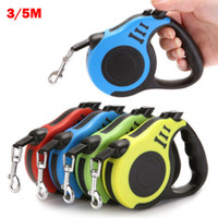 Wholesale dog leash 5m for sale - Group buy 3M M Retractable Dog Leash Automatic Flexible Dog Puppy Cat Traction Rope Belt Leash for Small Medium Dogs Pet Products