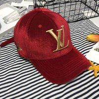 bayan beyzbolu toptan satış-Lüks Şapkalar Moda Tasarımcısı Erkek Female Beyzbol şapkası şapka Sıcak Yüksek Kalite Tops Seçenekler Yeni varış 4 Renkler Ayarlanabilir Şapka Caps