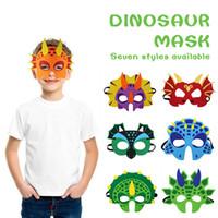 красивые маски оптовых-Фотограф Prop Photo Booth Реквизит Динозавр Маски Косплей Прекрасный Войлок Ткань Красивый фестиваль