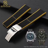 reloj de pulsera de goma para hombre al por mayor-Pulsera de goma de silicona para el vengador XB0170E4 XB0180E4 XB1210E4 correa de reloj 22mm correa de reloj de pulsera de alta calidad para hombre pulsera