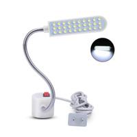 helle led-arbeitsleuchten großhandel-10/20/30 LED Super Helle Nähen Kleidung Maschine Licht Multifunktionale Flexible Arbeitslampe licht für Werkbank Drehmaschine Bohrmaschine