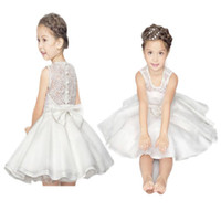 Wholesale gowns style clothes for sale - 2019 Samgamibaby kids designer clothes girls Kids summer hot style girls princess tutu dress full skirt gown