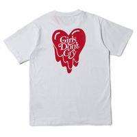 футболка хип-хопа оптовых-3125C Эмоционально недоступный Verdy Girls Футболка для мужчин Don't Cry Футболка для женщин Футболка Harajuku Хип-хоп Уличная одежда Летние хлопковые футболки Топы