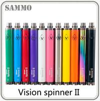 maç ücretsiz sigara toptan satış-En kaliteli Vizyon spinner II 1600 mah Ego büküm 3.3 Elektronik sigaralar için 4.8 4.8 V görüş spinner 2 değişken voltaj pil 0204043