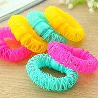 enrolladores de pelo rizos en espiral al por mayor-6/8 Unids Nuevo Magic Hair Donuts Hair Styling Roller Hairdress Magic Bendy Curler Spiral Curls DIY Herramienta para Accesorios de Mujer